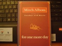 """Bestseller Hardback Book By Mitch Albom - """"For One More Day"""" in Houston, Texas"""