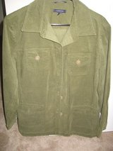 Lands End Moss Green Cord Jacket size 16W in Fort Benning, Georgia